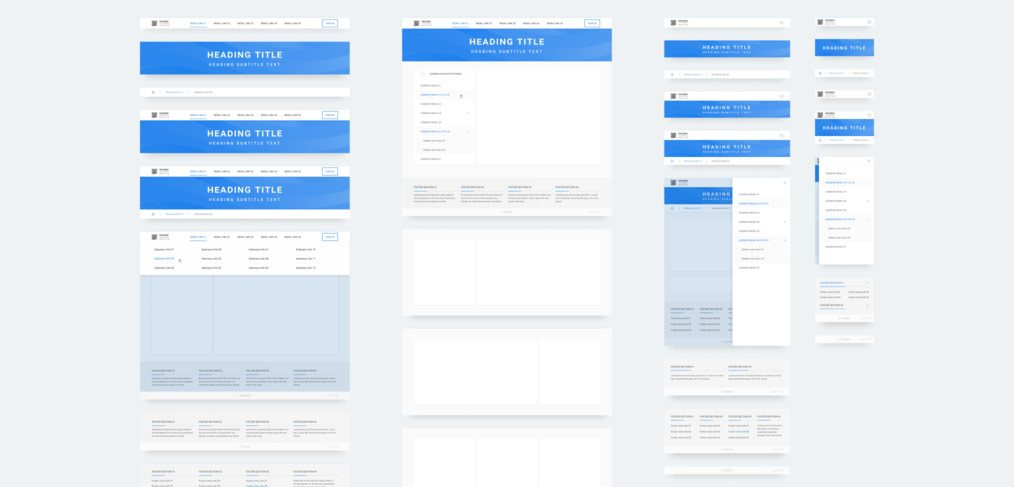 Free Responsive web components library