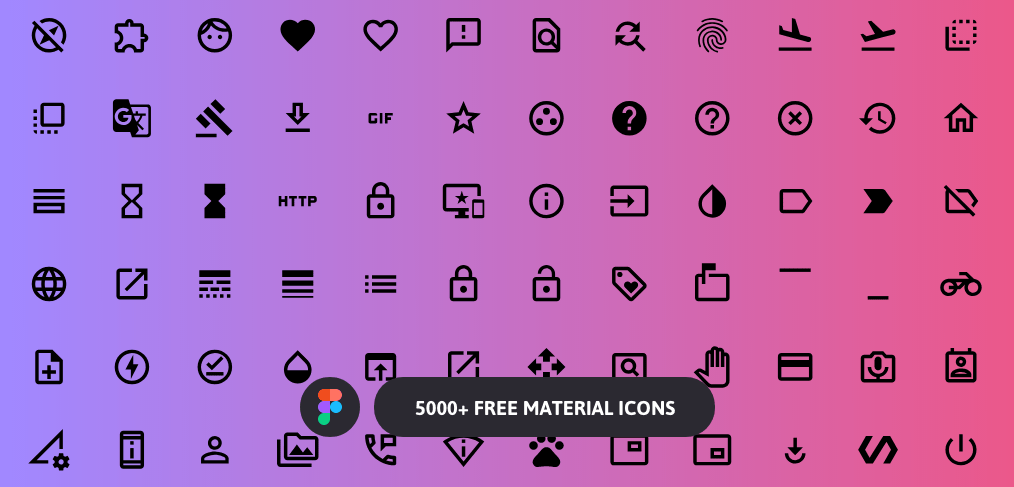 free figma material icons