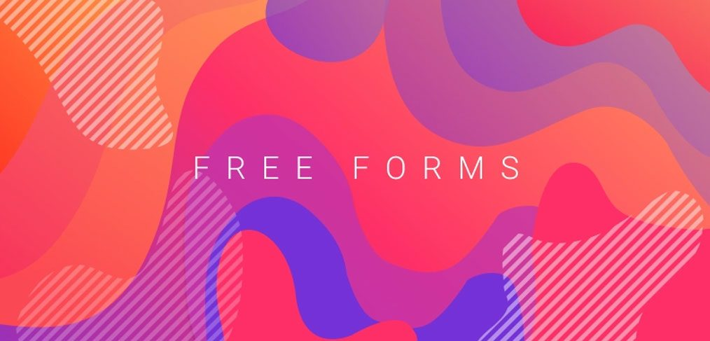 Free Figma abstract forms