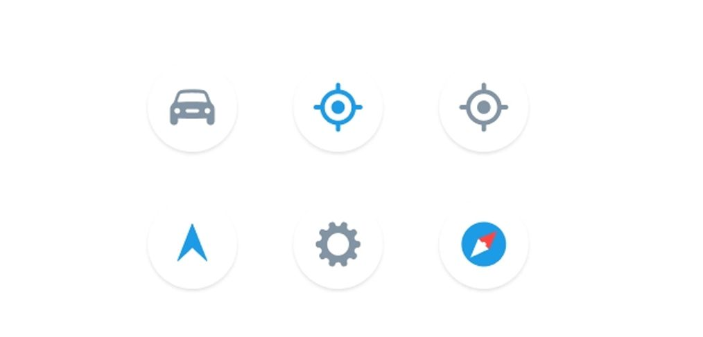 Figma map control free icons