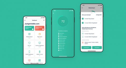 Mobile dashboard UI kit for Figma