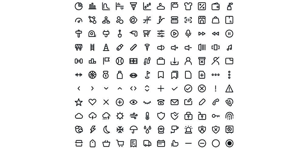 Line - Free Figma icon set