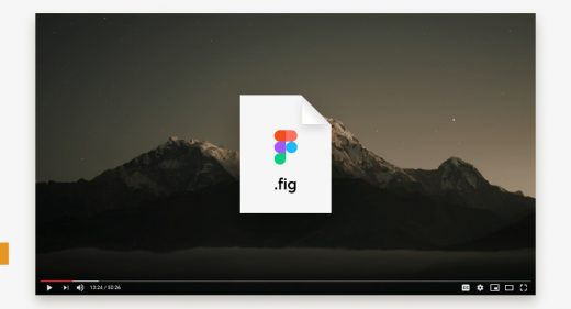 Figma Youtube player template
