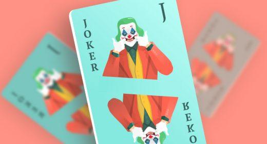 Joker card Figma illustration