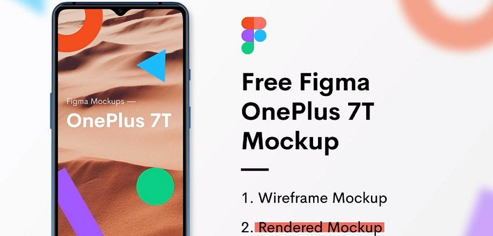 OnePlus 7T Figma mockup