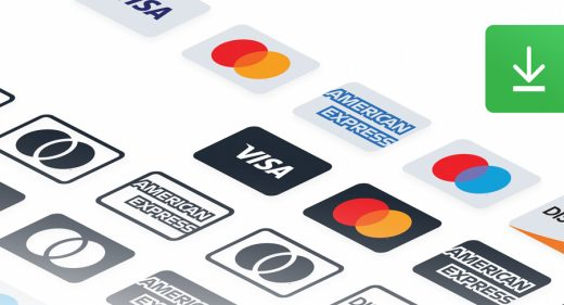 Payment methods Figma icons