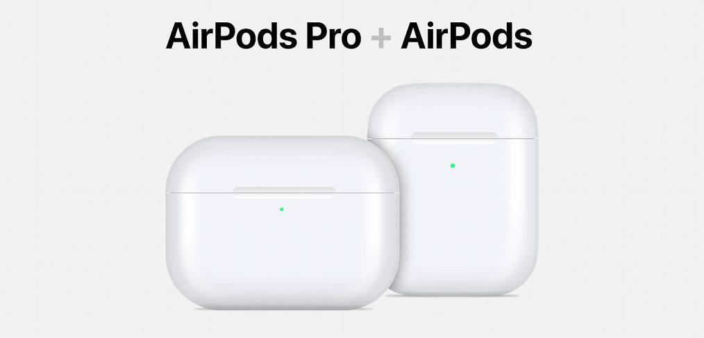 AirPods Figma vector mockup