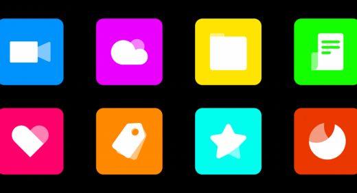 Colorful icons Figma freebie