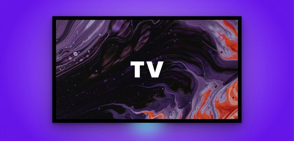Figma free TV mockup