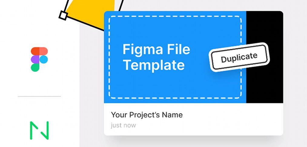 Figma file template freebie