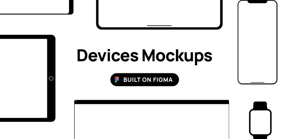 Free Figma devices mockups
