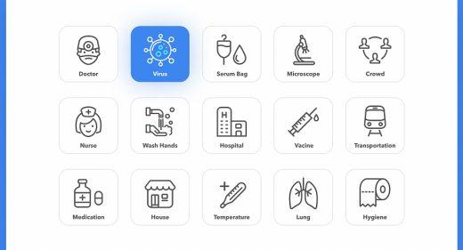 Free Figma health and Covid icons