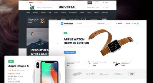 Universal Figma UI kit