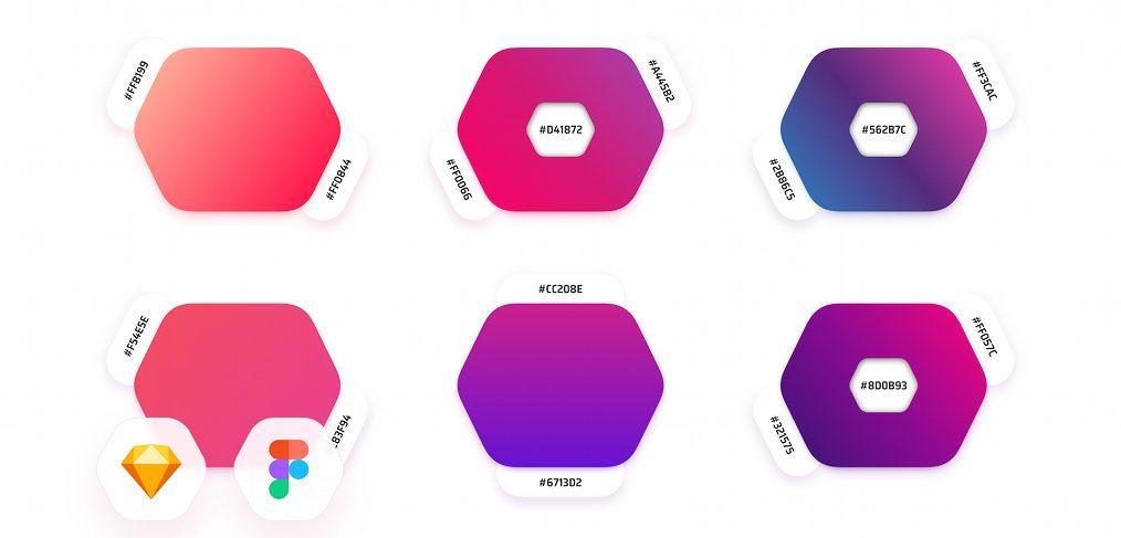 45 free Figma gradients