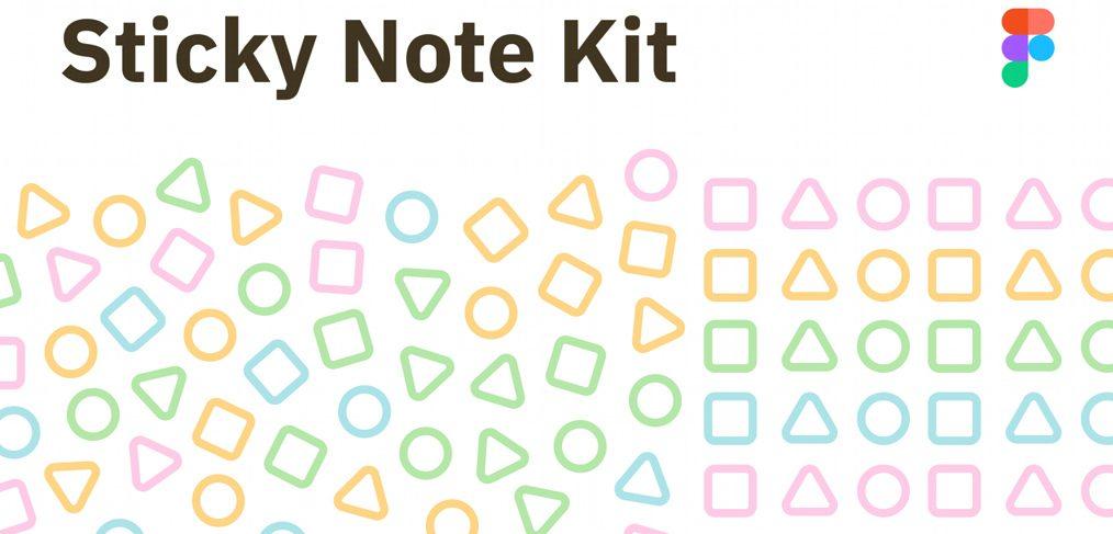 Figma Sticky note kit