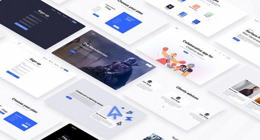 Exo - Figma design system template