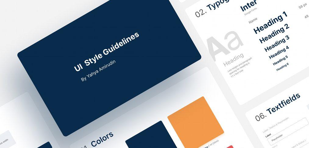 Figma free styleguide template