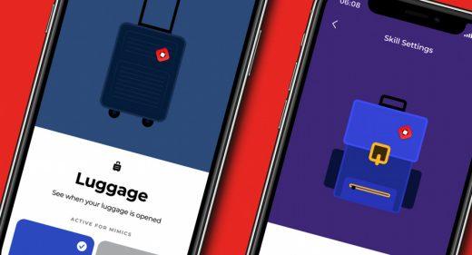Smart mimic Figma luggage illustrations