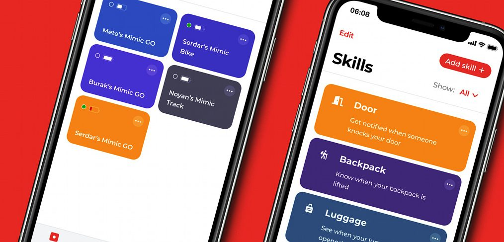 Smart mimic mobile tabs
