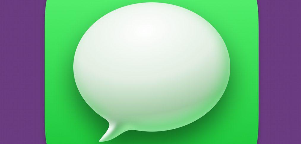Figma Big Sur messaging icon