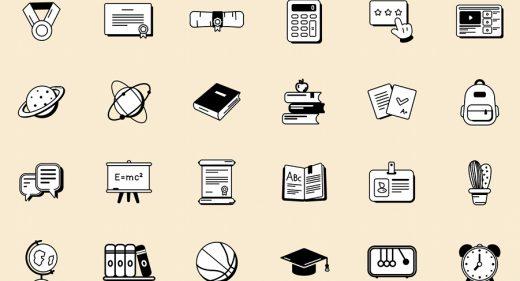 Free Figma education illustrations