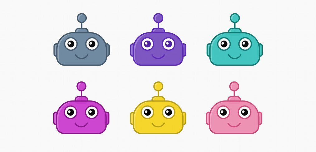Figma bot avatar illustration