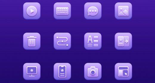 UX icons Figma freebie