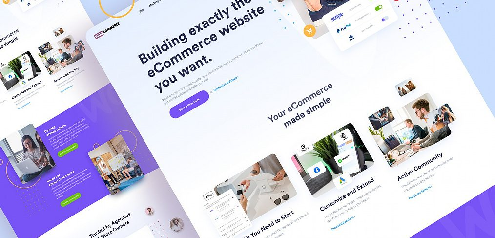 Woocommerce Figma redesign template