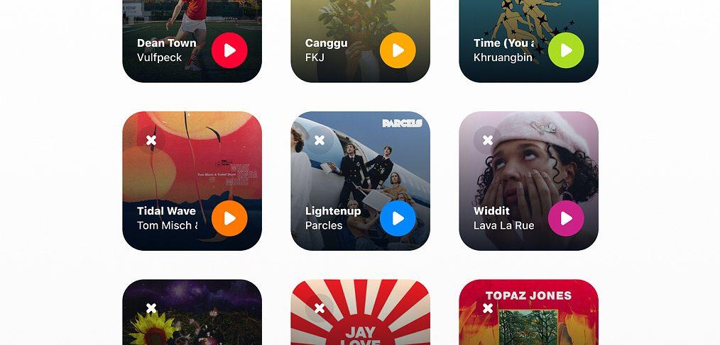 Shazam iOS 14 Figma widget