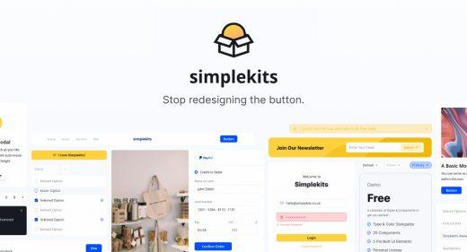 Simplekits Premium Figma Design System