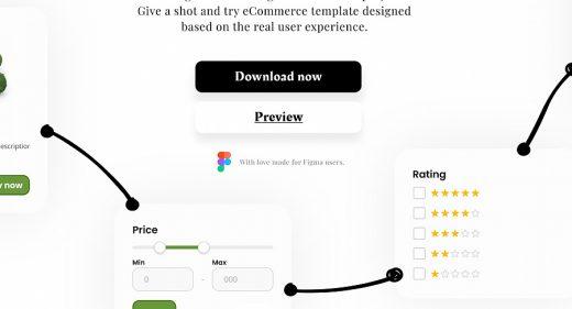 eCommerce Figma template kit