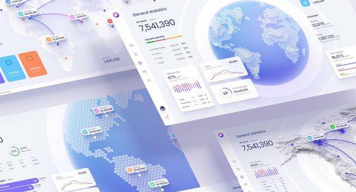 Figma Data visualization dashboard