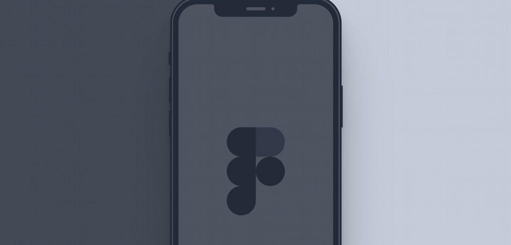 iPhone 12 Pro Figma mockup