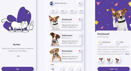 pet-adoption-figma-mobile-template