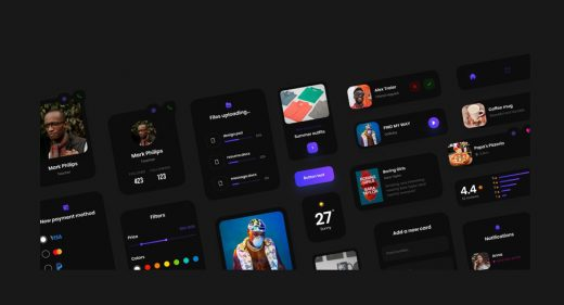 Free components Figma UI kit
