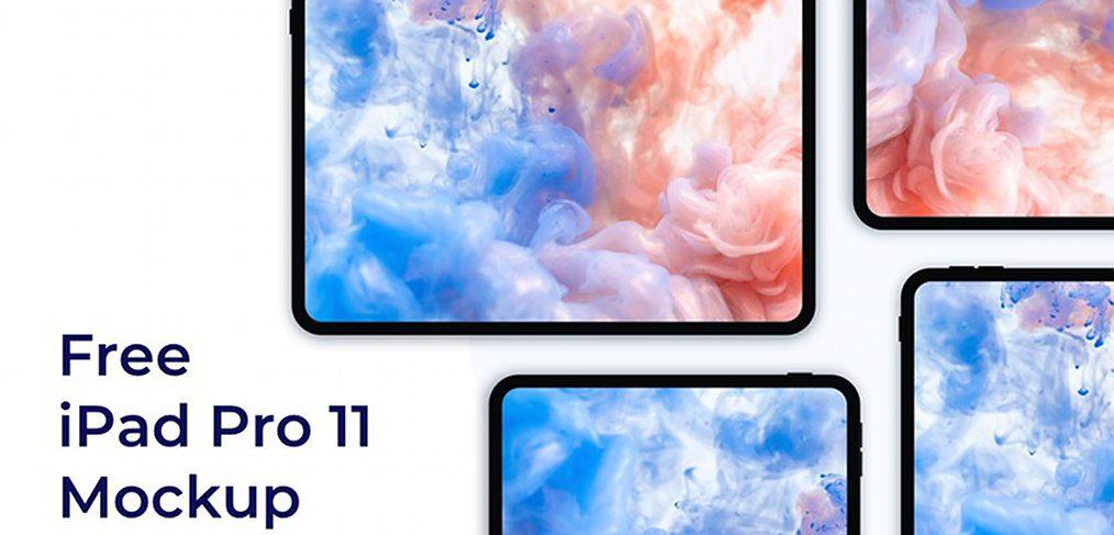 iPad Pro 11 Figma mockups