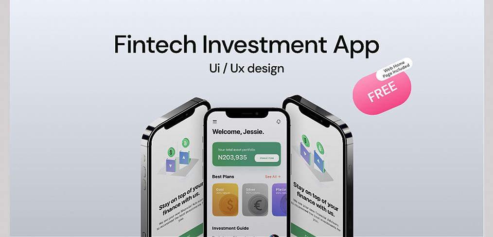Figma investment app template