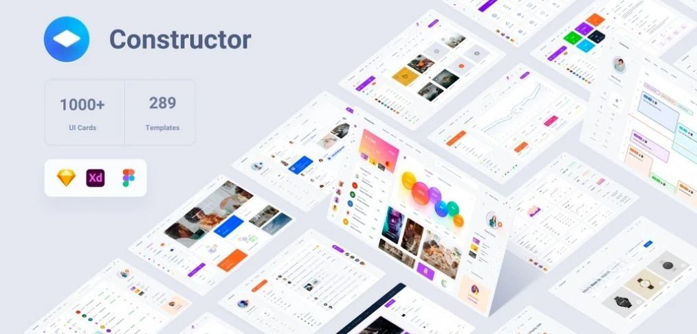 Constructor Multipurpose UI Kit for Figma