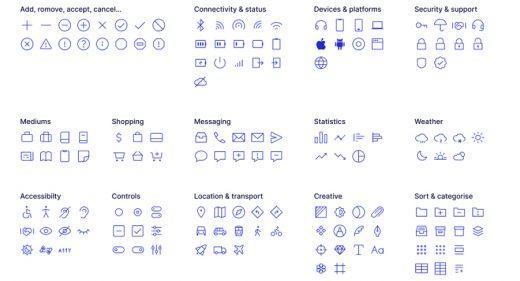 Ikonate - 338 free Figma icons