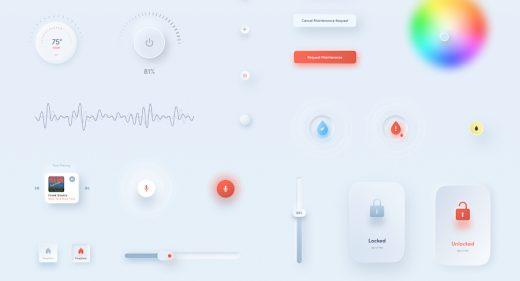 Figma free Interactive UI elements