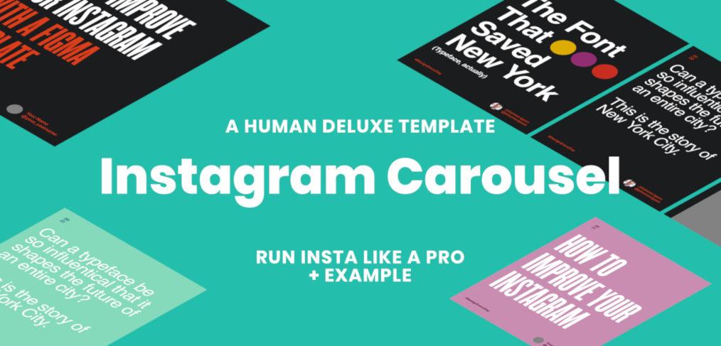 Figma Instagram carousel template