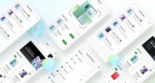 Figma mobile shop template (demo)