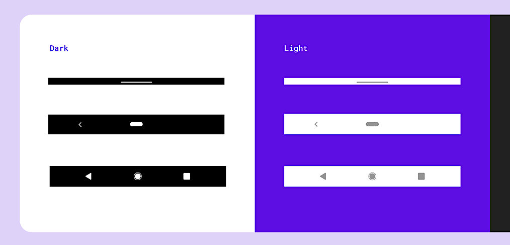 Android navigation components for Figma
