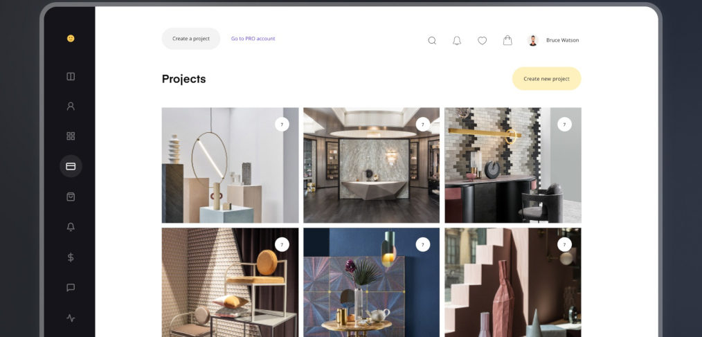 Designer dashboard free Figma concept