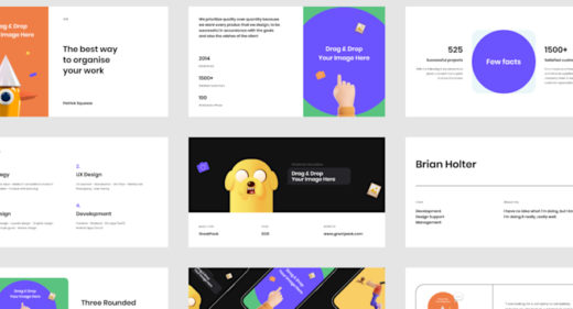 Free slides templates made in Figma