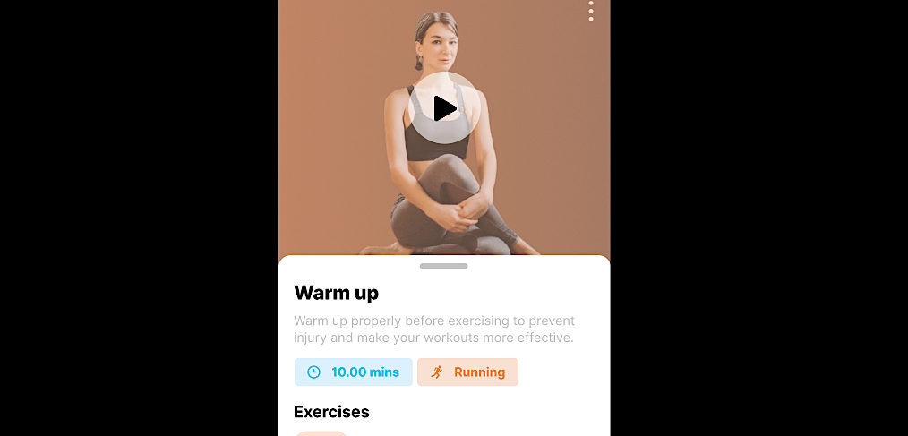 Yoga/Workout Figma app template