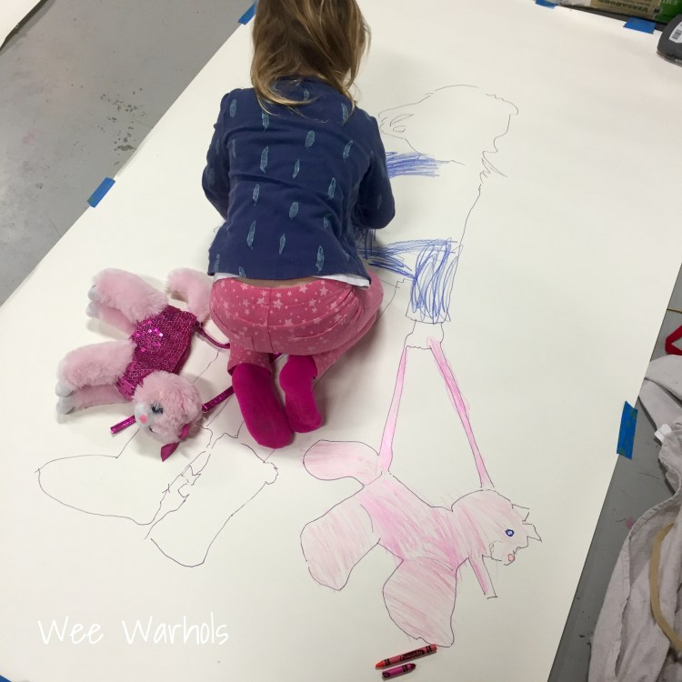 Wee Warhols, Austin TX, Self Portraits, selfies, kids art