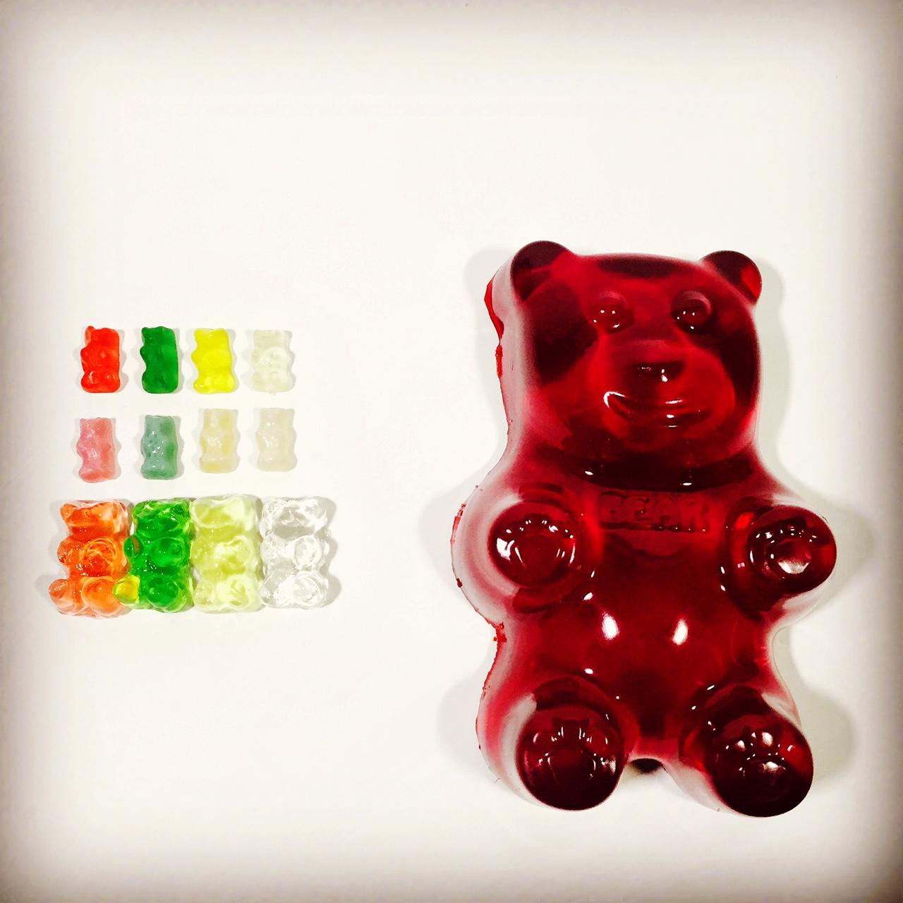 Gummy Bear Grow Experiment