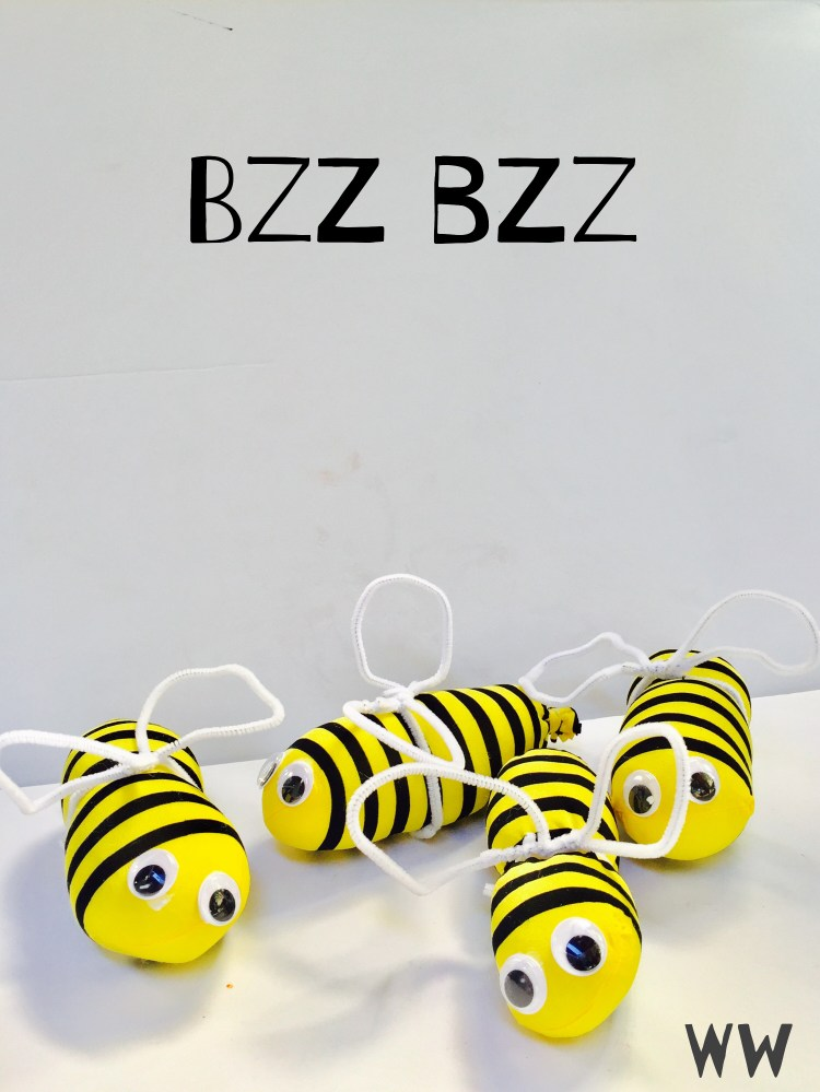 bee, buzz buzz, love, Wee Warhols, Austin, Art class