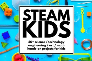 STEAM Kids, STEAM, STEM, book, Wee Warhols, Austin